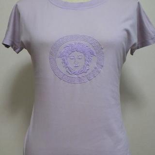 VERSACE パープル Tシャツ