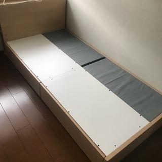 ニトリ シングルベッド 取引中