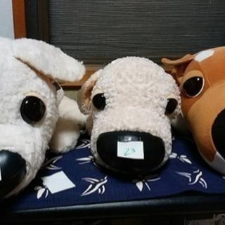 THE DOGとスヌーピーとねこのぬいぐるみ