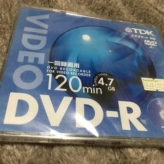 DVD-R一回録画用未開封