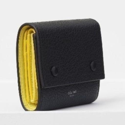 bea2bb2d7c31 セリーヌ CELINE 財布 三つ折り スモール フォールデッドの画像 ...