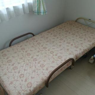 折り畳み式 シングルベッド♪
