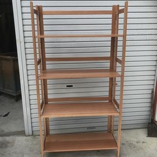 木製の折り畳み棚お売ります。限定2台