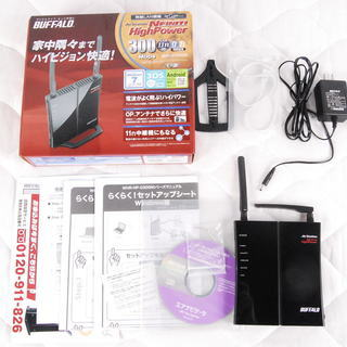 BUFFALO 無線LANルーター WHR-HP-G300N アントレ