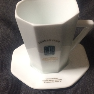 500円 神戸 異人館倶楽部 IJINKAN CLUB コーヒーカップ