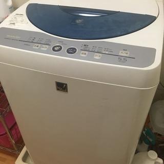 【洗濯機】シャープ 2008年製