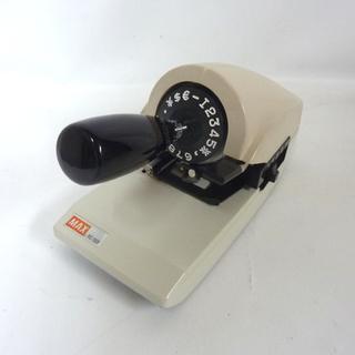 札幌 MAX ロータリーチェックライタ RC-150S 手形 小切手用