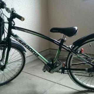 自転車 24インチ 6段変速 (中古)