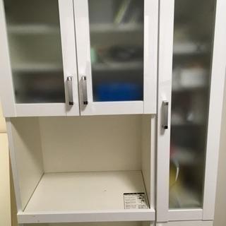 収納家具/食器棚 ホワイト