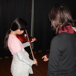 小さなお子様から大人の方まで バイオリンの魅力を楽しみましょう
