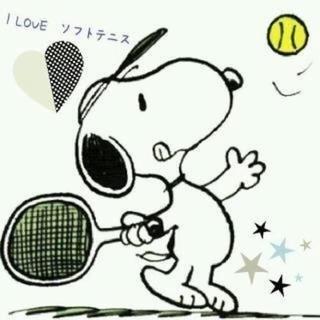 ソフトテニスメンバー募集です。