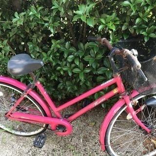 自転車現状お渡しの為ジャンク品扱い