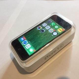 【美品】☆ iphone 5C ホワイト 16G  Au☆
