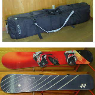 スノーボード 162cm YONEX ヨネックス と Burton...