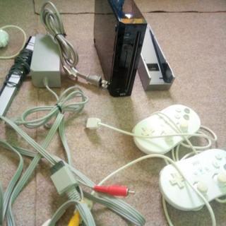Wii本体+付属品+ソフト3本