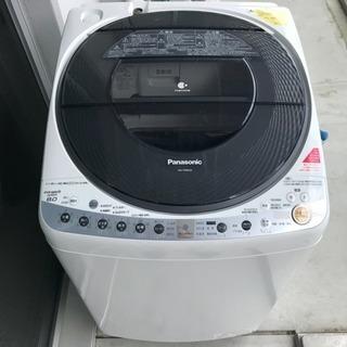 ナノイー Panasonic エコナビ搭載 8.0kg 全自動洗濯...