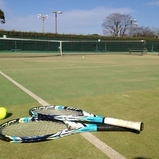 8月5日 下関北運動公園 だれでも参加できるテニスの試合