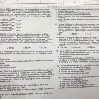 USCPAミニテストを解いてくれる方探してます!