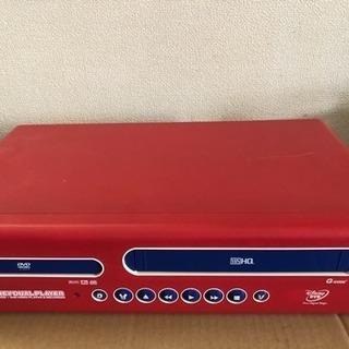 DVD.VCRコンビネーションデッキ