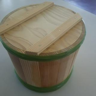 【無料】お味噌の樽(使用感、匂いなし)を差し上げます