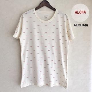 Quality Peoples Tシャツ ALOHA柄 USA製 ...