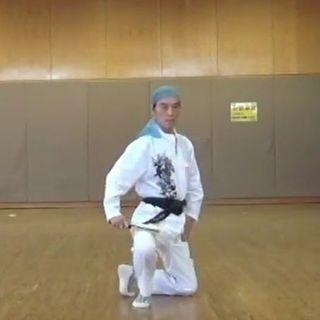 サムライダンス(護身武踊)