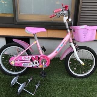 自転車 ディズニー ミニー