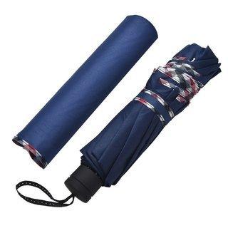折りたたみ傘 頑丈な10本骨 122㎝ 大きい ネイビー