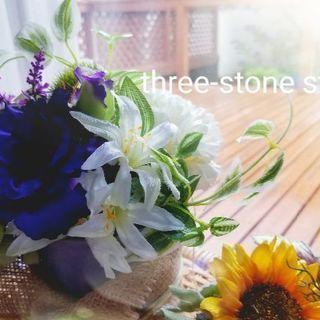 お花が選べる!【夏のアレンジ】アーティフィシャルフラワー