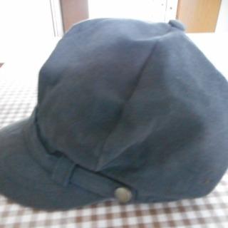レディース帽子・キャスケット・黒