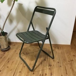旧フランス軍椅子