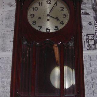 【終了】骨董品 掛け時計