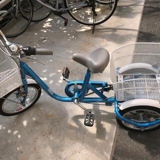 美品 大人用の三輪車 18〜20インチ