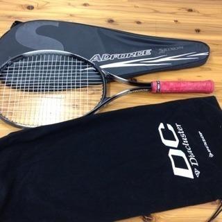 硬式 テニスラケット ソフトケース付き 中古