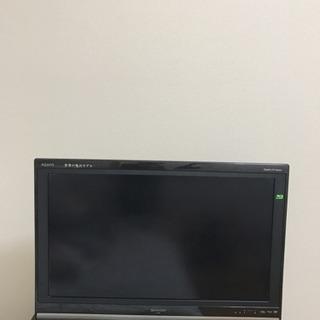 SHARP AQUOS 32V型 ハイビジョン液晶テレビ …