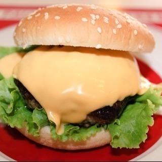 シンプルで美味しいチーズバーガー
