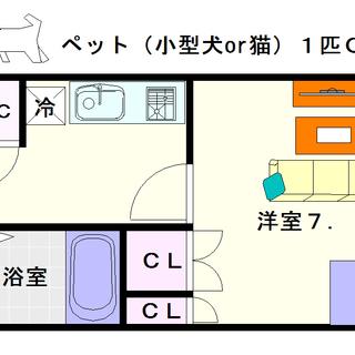 【セオリー難波南プレミアム】2号タイプ!1Kタイプ!日当たりのよい...
