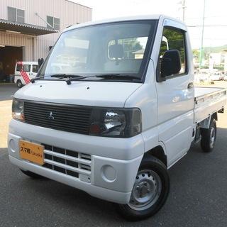 スマ軽 福岡 ミニキャブトラック 5速MT 車検ほぼ2年付き 白061