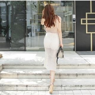 在庫処分!!♥清潔感いっぱい・スカート♥2カラー残り4つ!