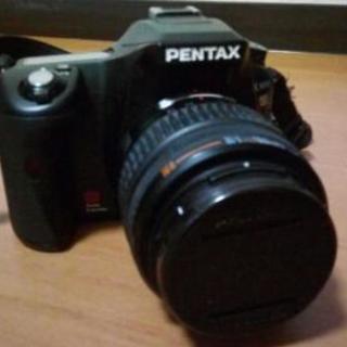 付属品付 ペンタックス 一眼レフカメラ K100D