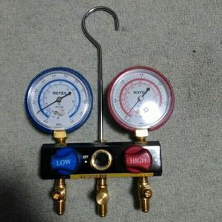 フロンガス圧力計