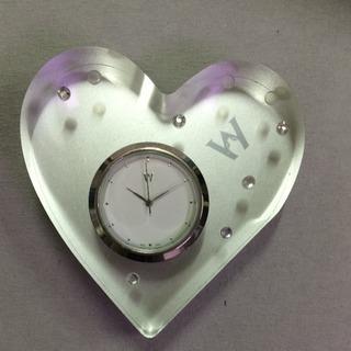 WEDGWOODハートの時計