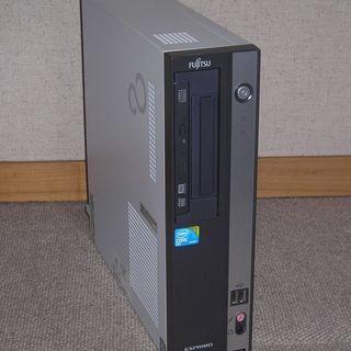 富士通デスクトップ D550/B(E7500/4/250)