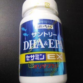 新品☆サントリーDHA&EPAセサミンEX