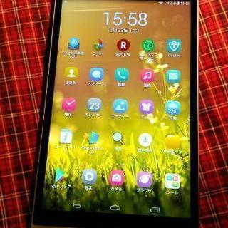Huawei mediapad  M1 8.0 LTEモデル  シルバー