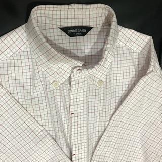 コムサイズム チェックシャツ  150