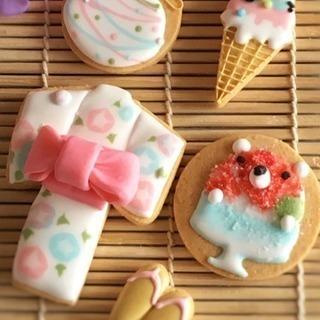 夏祭り アイシングクッキー♡