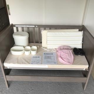 IKEA ベビーベッドセット