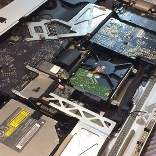 iMac 2011 27インチ i7 3.4G ファン交換作業