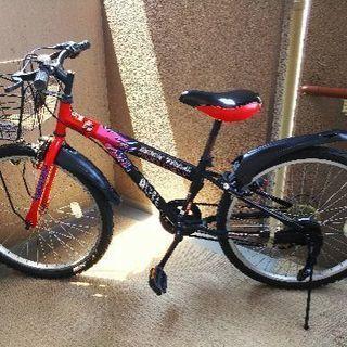 24インチ、ジュニア用自転車、譲ります!